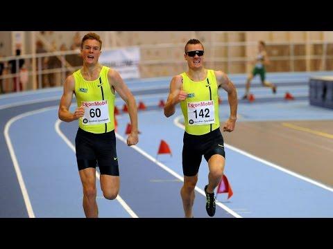 Henrik, Filip og Jakob Ingebrigtsen løper 800m