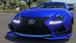 Lexus RC F 2015 (Rocket Bunny BodyKit) - Forza Horizon 3 - Test Drive Free Roam Gameplay