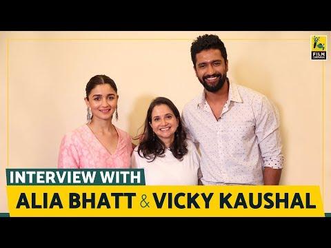 Alia Bhatt and Vicky Kaushal Interview with Anupama Chopra   Raazi   Film Companion