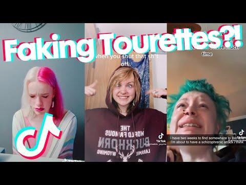 Faking Tourettes?! - TikTok Cringe Compilation