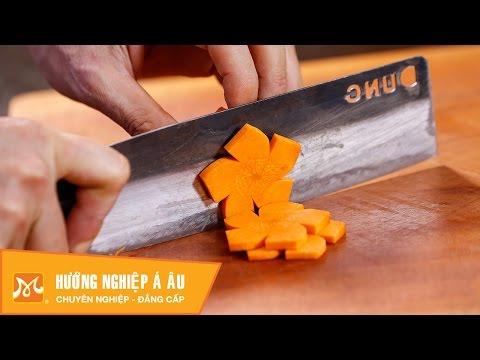 Cách cắt tỉa cà rốt đơn giản | nấu ăn