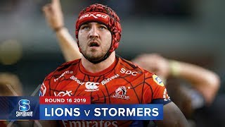 Lions v Stormers Rd.16 2019 Super rugby video highlights | Super Rugby Video Highlights