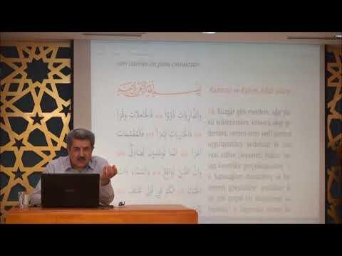 Tuncer Namlı - Zâriyât Suresi  (01 - 46) Ayetlerin Tefsiri