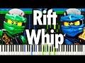 LEGO NINJAGO - The Rift Whip by The Fold | Synthesia Piano Tutorial