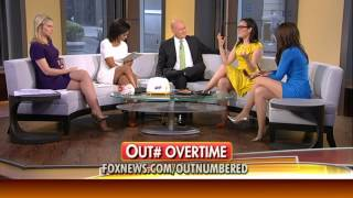 Kimberly Guilfoyle & Sandra Smith & Harris Faulkner & Lisa Kennedy hot legs - Outnumbered - 08/12/14