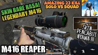 Video Coba Skin Senjata Terbaru M416 Reaper di PUBG MOBILE - Skin Rare Pencabut Nyawa ! 23 Kill 1vs4 ! MP3, 3GP, MP4, WEBM, AVI, FLV Juli 2018