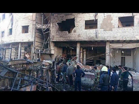 Πολύνεκρη επίθεση στη Δαμασκό – Οι τζιχαντιστές ανέλαβαν την ευθύνη
