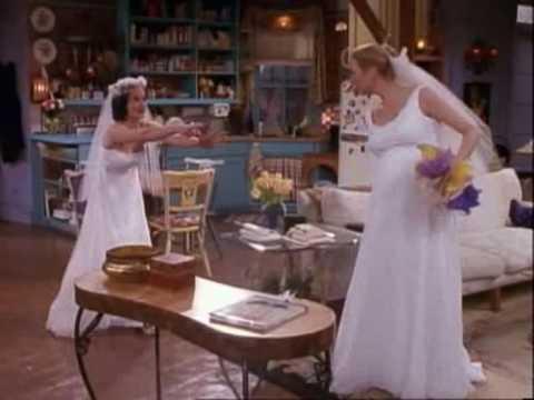 Friends en español - Friends- El de los vestidos de novia
