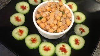Chickpeas Sundal or konda kadalai sundal