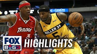 Killer 3's vs Trilogy | BIG3 HIGHLIGHTS by FOX Sports