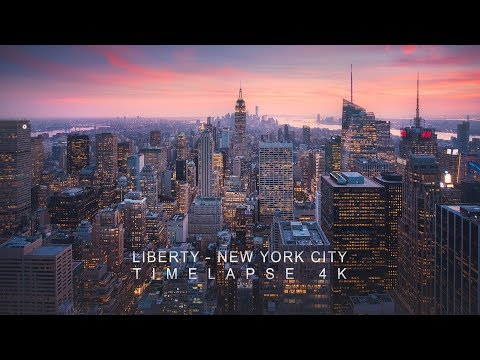 Download Liberty - New York City Timelapse 4K HD Mp4 3GP Video and MP3