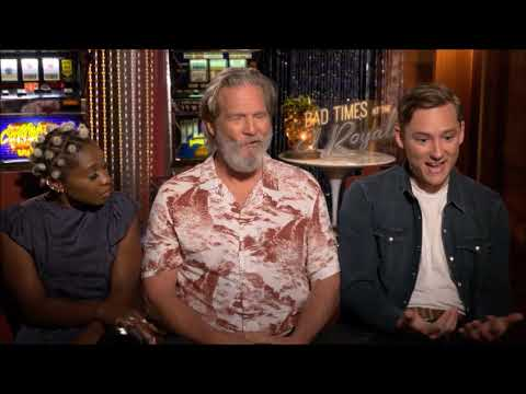 Bad Times At The El Royale: Interview with Jeff Bridges, Cynthia Erivo and Lewis Pullman