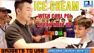 The purpose of this video is to show, what happens in a oneplus fan meetup, carl pei met his fans and people who love him here in delhi and NCR. We hope you liked this video, to get notified, subscribe for free at http://goo.gl/ZgmTjE also, make sure to like this video and share if it can help other people. Add Abhishek As Friend on:Twitter: https://goo.gl/eEdJO3Facebook: https://goo.gl/VJLdDlInstagram: https://goo.gl/ZA75hSAbhishek Facebook Page: https://goo.gl/SPbQVP--Add Gadgets To Use As Friend on:--Facebook Page: https://goo.gl/AzdyXjTwitter: https://goo.gl/gv2Ob5 Instagram: https://goo.gl/09gnZt--Best Smartphone Offers: Best Phone Deals on Flipkart - http://goo.gl/pft2ueBest Phone Deals on Amazon - http://goo.gl/2nMKvI3. About GadgetsToUse:Visit http://www.gadgetstouse.com to read more detailed reviews, unboxing, hands on and overview of smartphones, tablets, tech and gadgets. We also post full review of gadgets and accessories on our website. 4. India RankGadgetsToUse youtube channel comes under Top Tech Youtube Channels in India for gadgets reviews, news and tips, tutorials. MY YOUTUBE GEAR --MY BIG CAMERA: http://goo.gl/J2P2AJ DIGITAL NOTEPAD I USE http://goo.gl/RD325n (Amazon US)  Amazon India ( http://goo.gl/x1ZdPQ )MY DSLR MIC: http://amzn.to/2dNrsQoMY MIC: http://goo.gl/8NlqDJMY CAR TRIPOD: http://amzn.to/2aGpotnMY OTHER PHONE TRIPODS: http://fkrt.it/vtgsBNNNNN MY SMALL TRIPOD: http://goo.gl/zpii2jMY SMALL CAMERA: http://goo.gl/MrvhvWSECOND MIC: http://goo.gl/aFWhnGMY TABLE TRIPOD: http://goo.gl/k9fvCUCHEAPER ACTION CAMERA: - http://goo.gl/pMFRJjSMARTPHONE TRIPOD: http://goo.gl/96EVtpMY DESKTOP MIC: http://goo.gl/iSVQN7MY VLOG CAMERA: http://goo.gl/LWCty3MY SECOND DESKTOP MIC: http://goo.gl/6MqVDtMY SECOND DSLR MIC: https://goo.gl/ZJch2P  --All content used is copyright to GadgetsToUse.com, Use or commercial display or editing of the content without proper authorization is not allowed.
