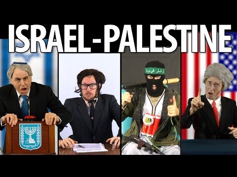 Palestine - RAP NEWS 24: ISRAEL & PALESTINE [S02:E04]. Decades of failed peace talks have led nowhere. But do not lose hope just yet: join Robert Foster as he attempts to host the first ever Middle East...