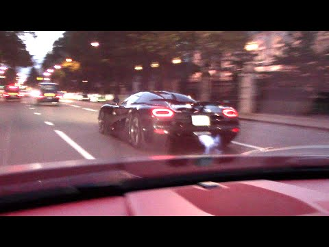 agera - On Saturday 2nd August 2014 we took on a Koenigsegg Agera R through the streets of London !