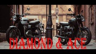 1. 2019 Triumph Bonneville T120 Diamond & Ace First Look | Quick Overview