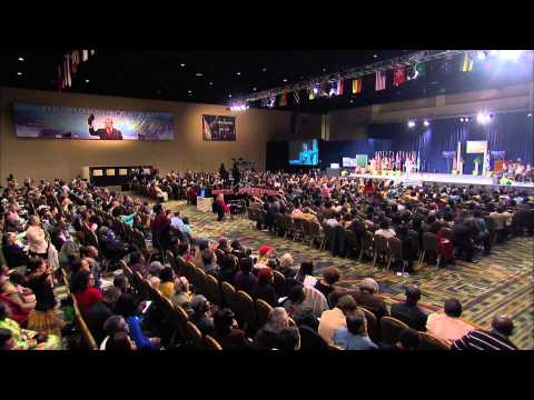 Pastor Steve Munsey Ministering During The World Conference 2014 In Orlando!