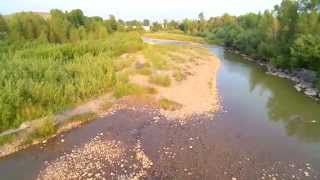 Evanston (WY) United States  city images : Drone Video of Assorted Features in Evanston WY
