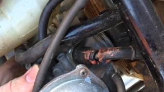 9. 2003 Honda Rancher 350 carburetor fix