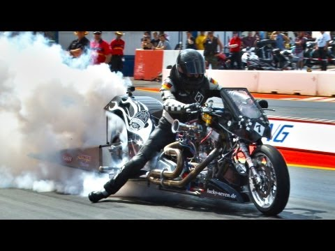 Drag Racing Burnout Highlights - Public Race Days 2013