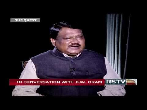 Rajya Sabha TV: Jual Oram in 'The Quest' 1 March, 2015