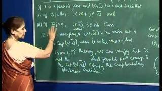 Mod-01 Lec-34 Problem 3 (assignment 7), Min-cut Max-flow Theorem, Labelling Algorithm.