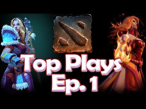 Dota 2 Top Plays Episode 1