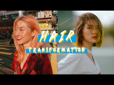 New hairstyle - NEW HAIR, WHO DIS  漂染過程全分享