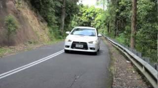 2012 Mitsubishi Lancer Ralliart Sportback Test Drive