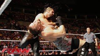 Rob Van Dam vs. Seth Rollins: Raw, Aug. 11, 2014
