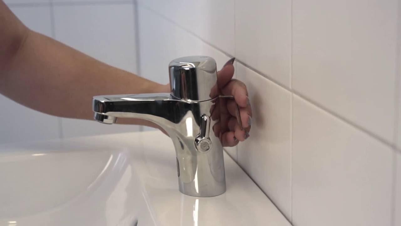 Tvättställsblandare Logic - sensorstyrd