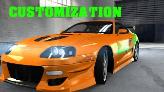 Nonton Toyota Supra Fast and Furious Paul Walker Customization Body kit - Nitro Nation Film Subtitle Indonesia Streaming Movie Download
