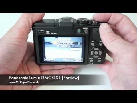 Panasonic Lumix DMC-GX1 Preview
