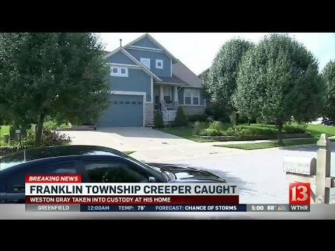 Suspected 'Franklin Township Creeper' arrested at home