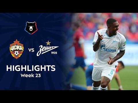 Highlights CSKA vs Zenit (0-4) | RPL 2019/20