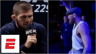 Video Conor McGregor late to UFC 229 press conference, Khabib Nurmagomedov leaves early MP3, 3GP, MP4, WEBM, AVI, FLV Juni 2019