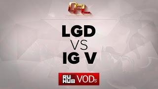iG.V vs LGD.cn, game 2