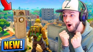 *NEW* MAP GAMEPLAY in Fortnite: Battle Royale! (TILTED TOWERS)