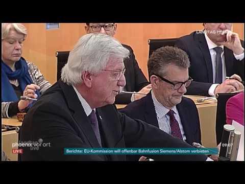 Regierungserklärung des hessischen Ministerpräsidente ...