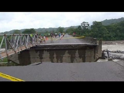 Σφοδρές πλημμύρες στην Κόστα Ρίκα