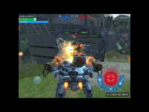 War Robots  - Kimmy Lee One on One Challenge Deathmatch. (видео)