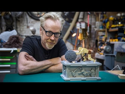 Adam Savage Recreates the Kinetic LEGO Sculpture of Sisyphus Forever Pushing His