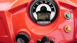 9. Polaris 170 RZR TOP SPEED