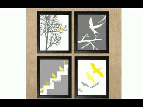 Home Decor Prints (видео)