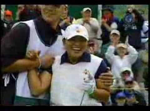 Jamin Kang's hole in one