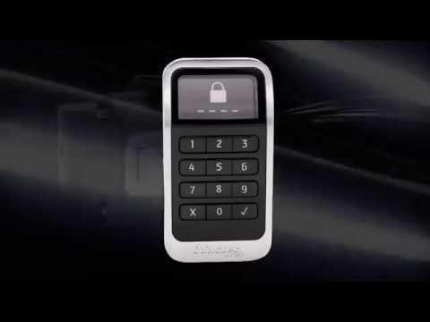 Screen capture of Master Lock Electronic Built-In Locker Lock
