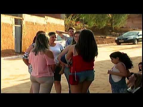 Moradores de Vilanova comemoram calçamento no Sitio da Paixão
