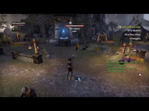 Funny Ass People on ESO on PS4 part 2