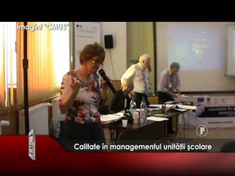 Calitate în managementul unităţii şcolare