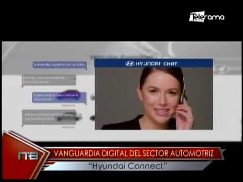 Vanguardia digital del sector automotriz Hyundai Connect